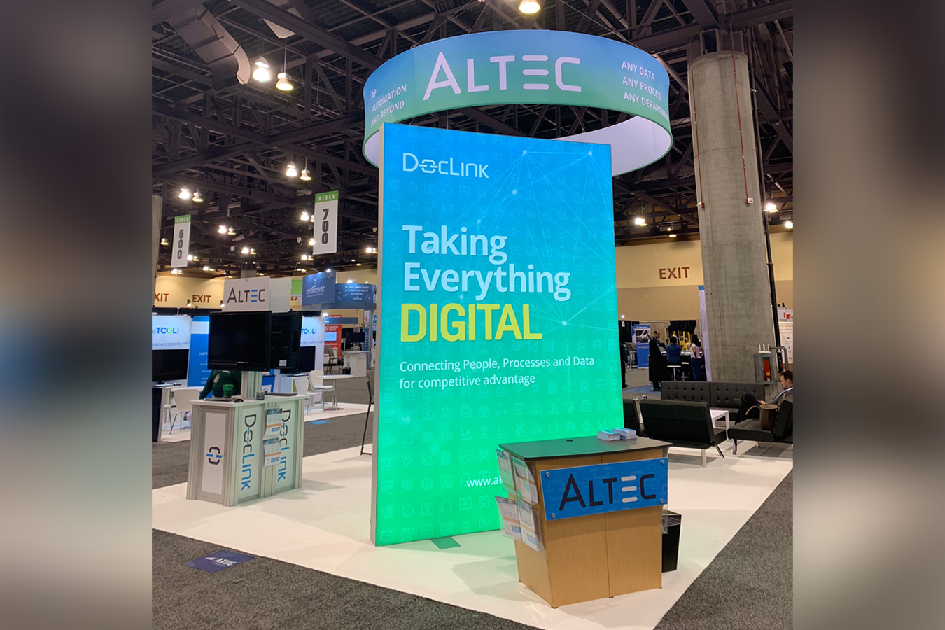 Altec Lightbox and booth