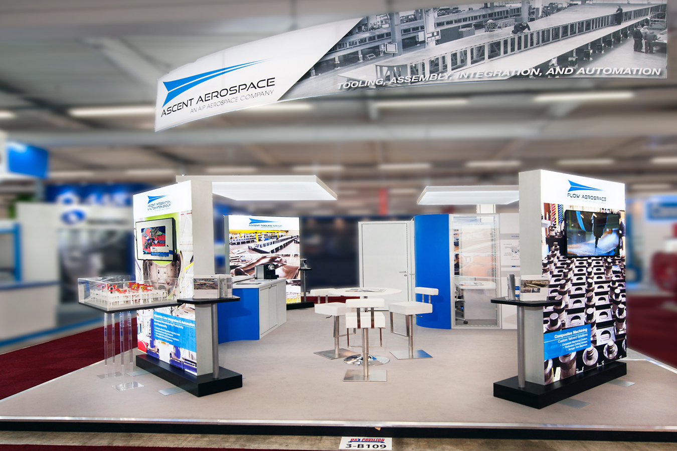 Ascent Aerospace European Booth