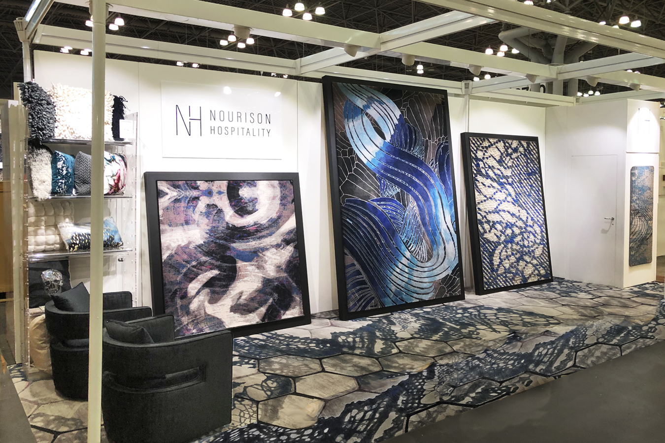 Nourison Hospitality booth