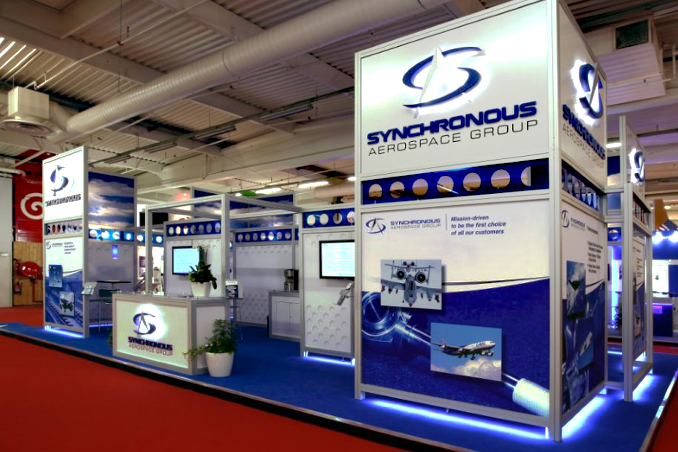 Synchronous Aerospace Group Booth